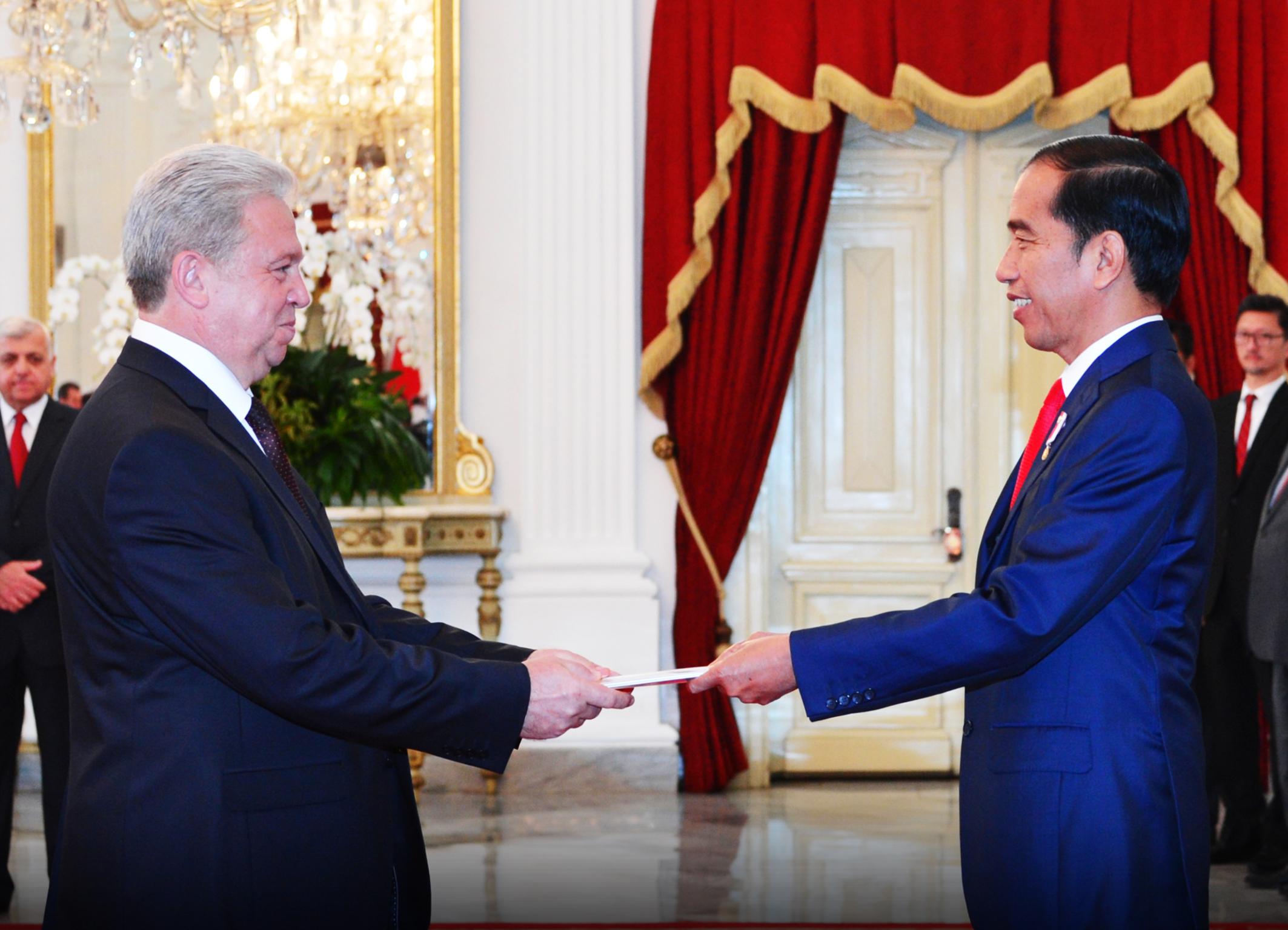 Duta Besar Belarus untuk Indonesia Valery Kolesnik