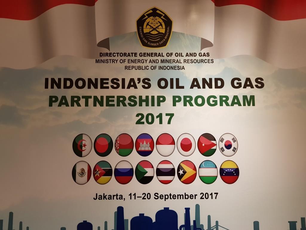 Delegation of concern Belneftekhim took part in Indonesia's